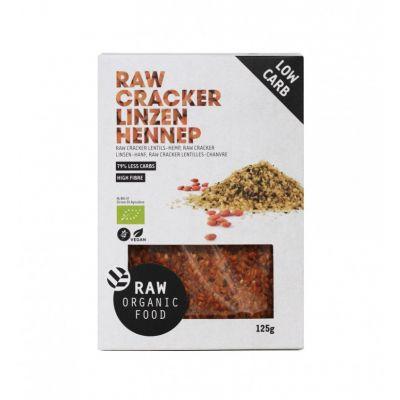 Cracker Linzen Hennep Raw Bio