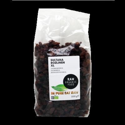 Sultana rozijnen XL van Raw Organic Food
