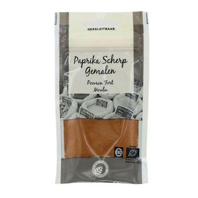 Paprika scherp gemalen van Organic Flavour Company