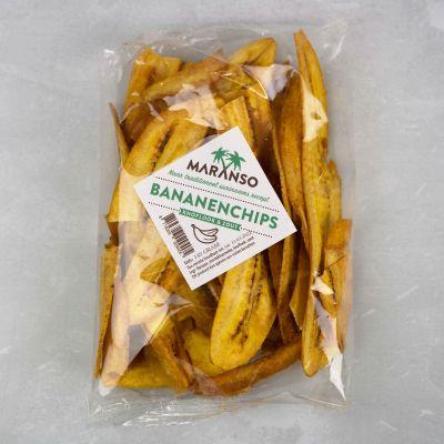 Bananenchips (knoflook & zout) 140 gram