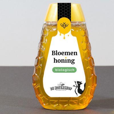 Bloemen Honing Biologische Knijpfles (350 gram)