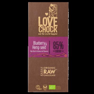 LoveChock Blueberry & Hempseed 85%