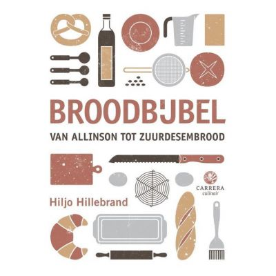 De kaft van het boek de broodbijbel van Hiljo Hillebrand