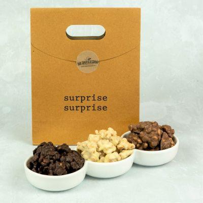 Cookie karamel rotsjes cadeautas
