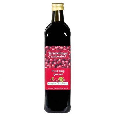 Puur Sap gezoet Terschellinger Cranberries
