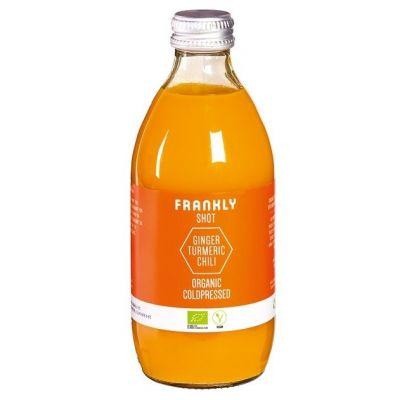 Frankly Juice gember, kurkuma en chili shot 330ml