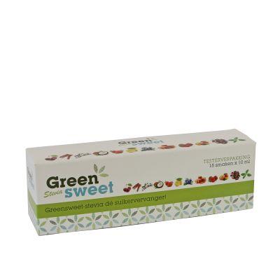 Greensweet Stevia pakket mini's (18 x10 ML)