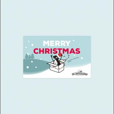 Kerst cadeaubon