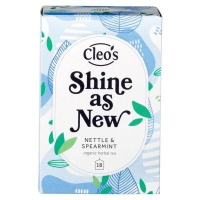 Shine as new thee van Cleo's