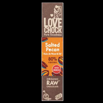 Lovechock salted pecan chocoladereep