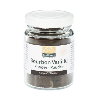 Bourbon Vanille Poeder Bio (30 gram)