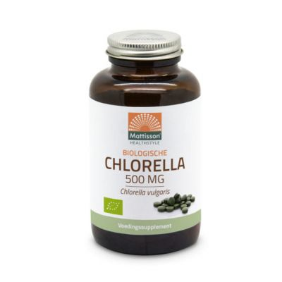 Biologische chlorella van Mattisson healthstyle