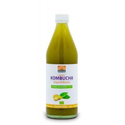 Kombucha Ginger & Matcha Bio (500 ml)