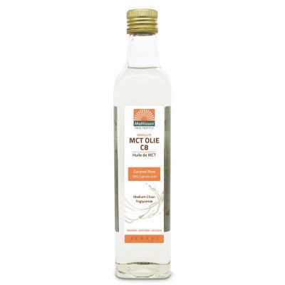 MCT olie C8 van Mattisson healthstyle