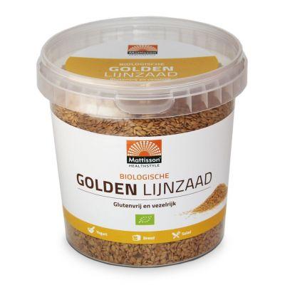 Golden Lijnzaad Bio (500 gram)