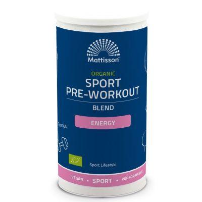 Mattisson Organic Sport Pre-Workout Energy Blend