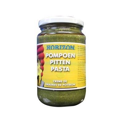 Pompoenpittenpasta Bio (350 gram)