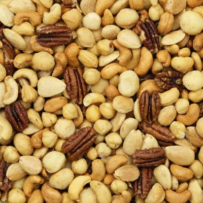 Macadamia Notenmix Gebrand Gezouten