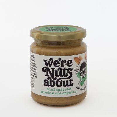 Pinda en notenpasta van We're Nuts About