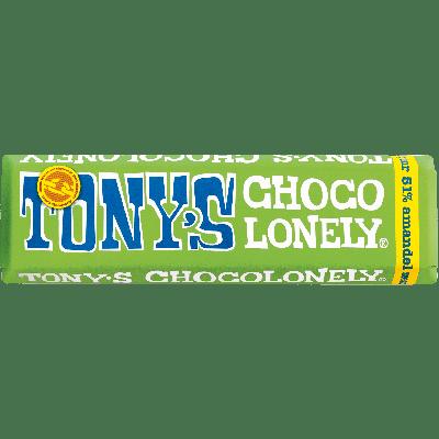 Tony's Chocolonely Puur Amandel & Zeezout klein