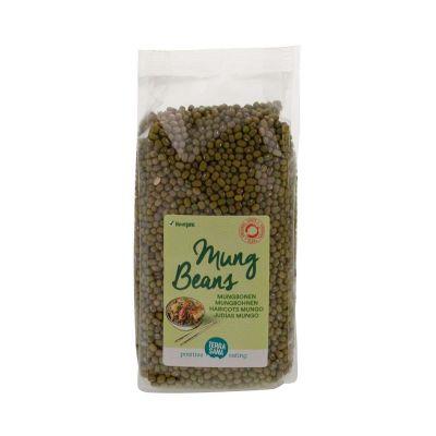 Glutenvrije mungbonen groen biologische (400 gram)