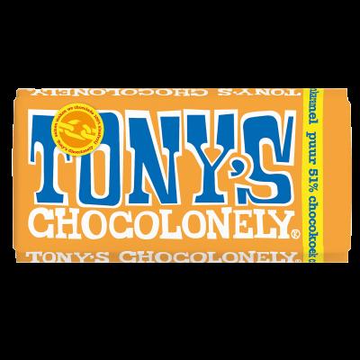 Tony's Chocolonely Puur Chocokoek Citroen Karamel