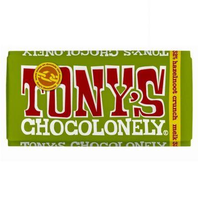 Tony's Chocolonely Melk Hazelnoot Crunch