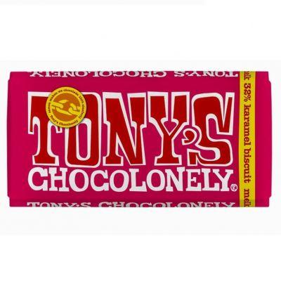 Tony's Chocolonely Melk Karamel Bescuit