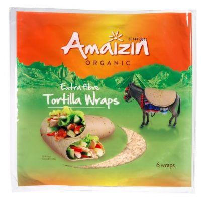 Amaizin tortilla wraps met extra vezel