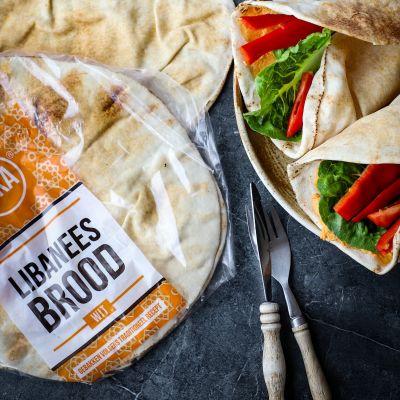 Wrap flatbread wit 5 stuks