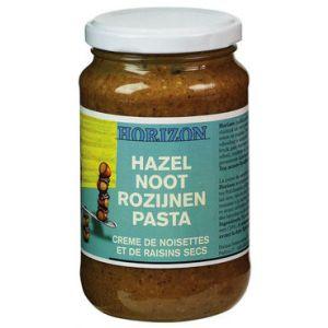 Hazelnoot rozijnen pasta van Horizon