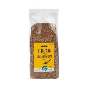 Glutenvrij lijnzaad gebroken Biologisch (400 gram)