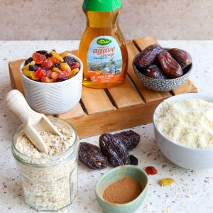 Ingrediënten bakbox ontbijt