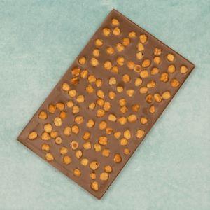 Melkchocolade Breekplaat met hazelnoten