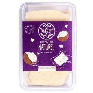 Naturel kokosbrood van Your Organic Nature