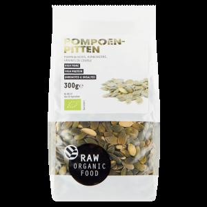 Pompoenpitten Raw Bio (300 gr)