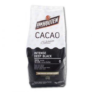 Van Houten cacaopoeder intense deep black
