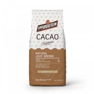 Van Houten cacaopoeder light brown